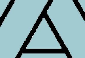 A detail of the TASH Möbius Strip logo icon